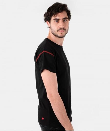 T-Shirt FRANKLIN - True Black