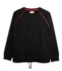 schwarzer Sweater Farbe True Black