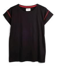 black T-shirt colour True Black