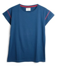 blaues T-Shirt Farbe Poseidon
