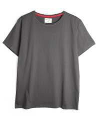 grey T-Shirt colour Asphalt