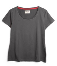 grey T-Shirt colour Asphalt